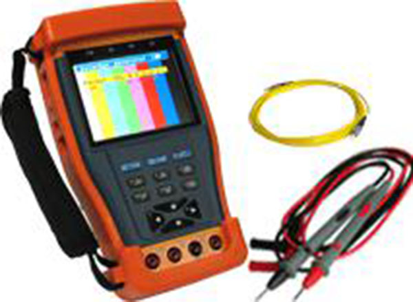 3.5 cctv tester with Digital multimeter and Optical power meter
