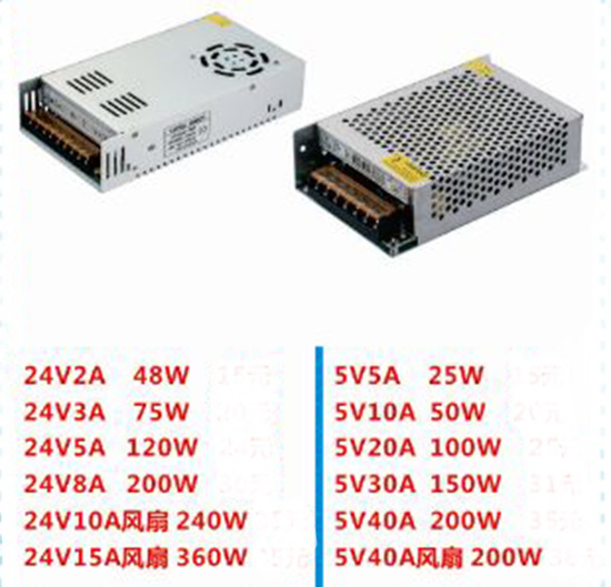24V2A 48W cctv power supply for cctv system