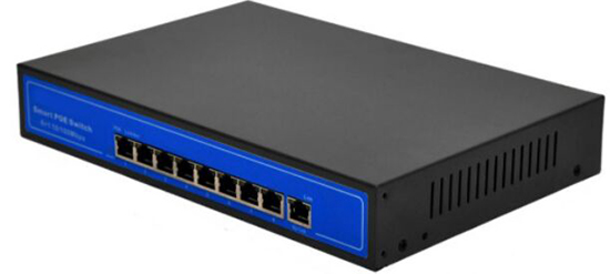 Active 8 and 1 8 Port POE Switch Built-in